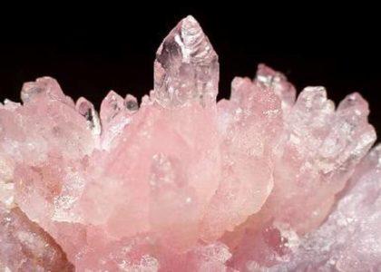 Медитация кристаллов: розовый кварц