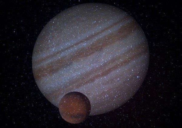 Марс и Юпитер в Январе