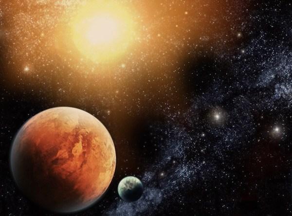 Солнце, Венера и Плутон, встреча в январе 2018