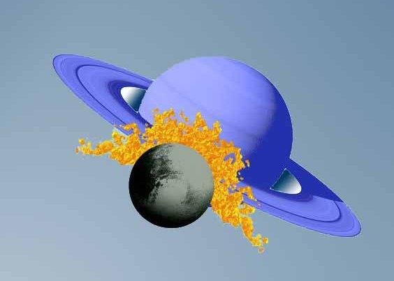 Соединение Сатурна и Плутона в январе 2020