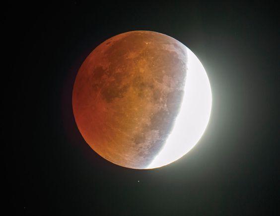 Лунное затмение в Июле 2020