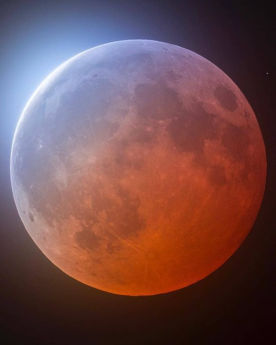 Лунное затмение в мае 2021