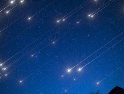 Звездные дожди в октябре 2021